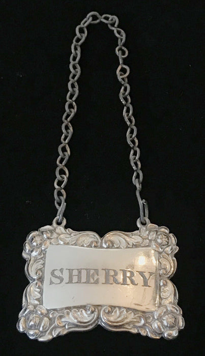 Buy this Super early 1820/30 British Silver Sheffield Sherry Label