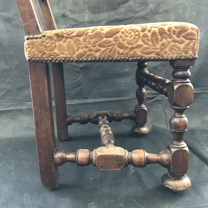 Early 18th Century Walnut Period French Chair
