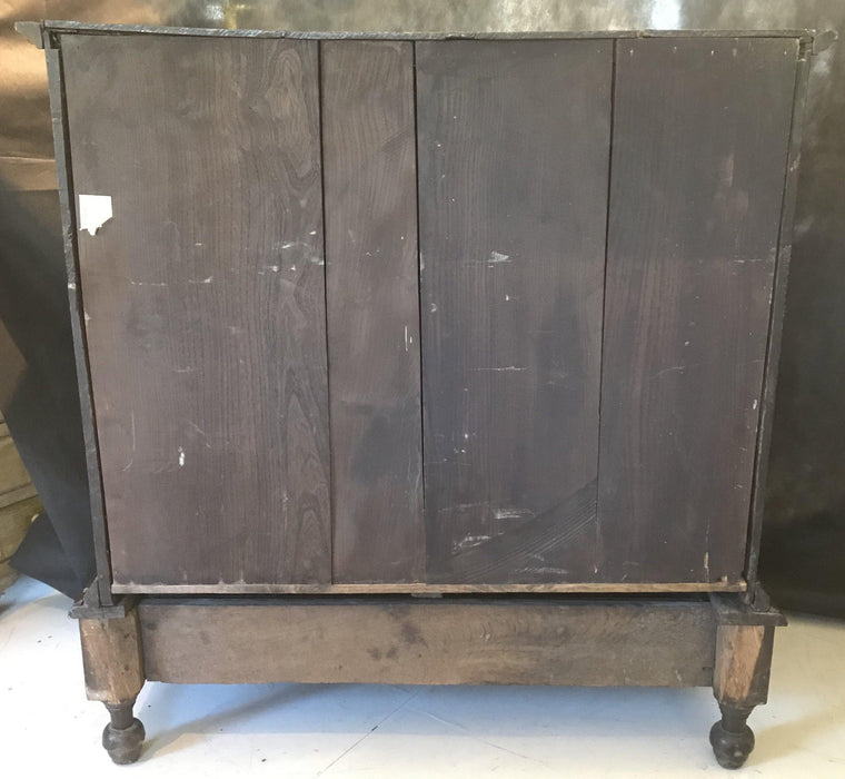 Antique Early Oak William and Mary British Chest on Stand