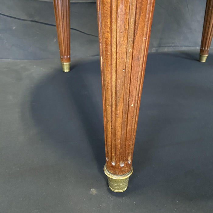 French Louis XVI Expandable and Versatile Walnut Dining Table, Entry Table or Desk
