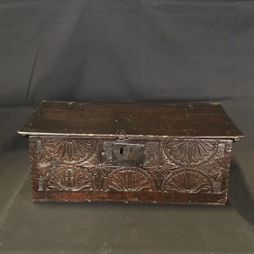British 17th Century Bible Box