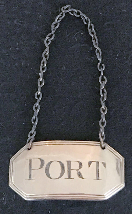 Port label for sale