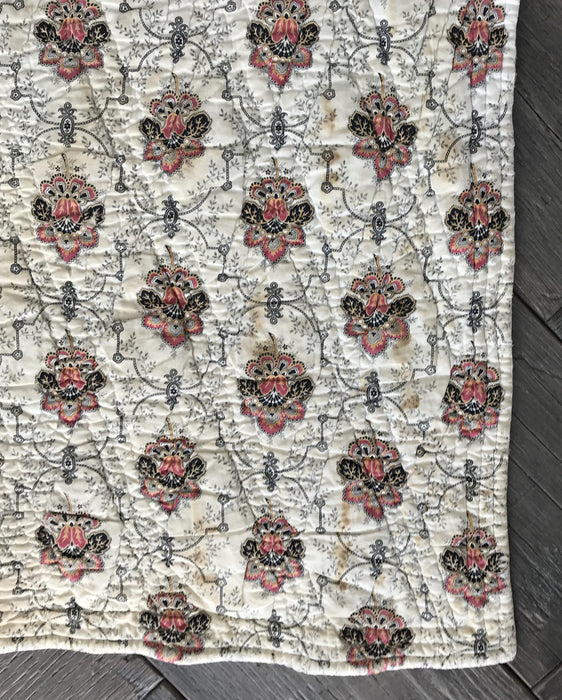For sale two-sided quilt french gorgeous