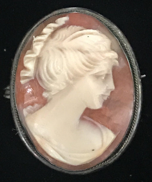 for sale: British Cameo Brooch - gorgeous!