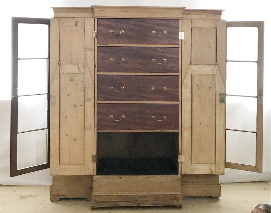Margaret 19th Century Scottish Solicitors Cabinet/Armoire/Bookshelves to sell