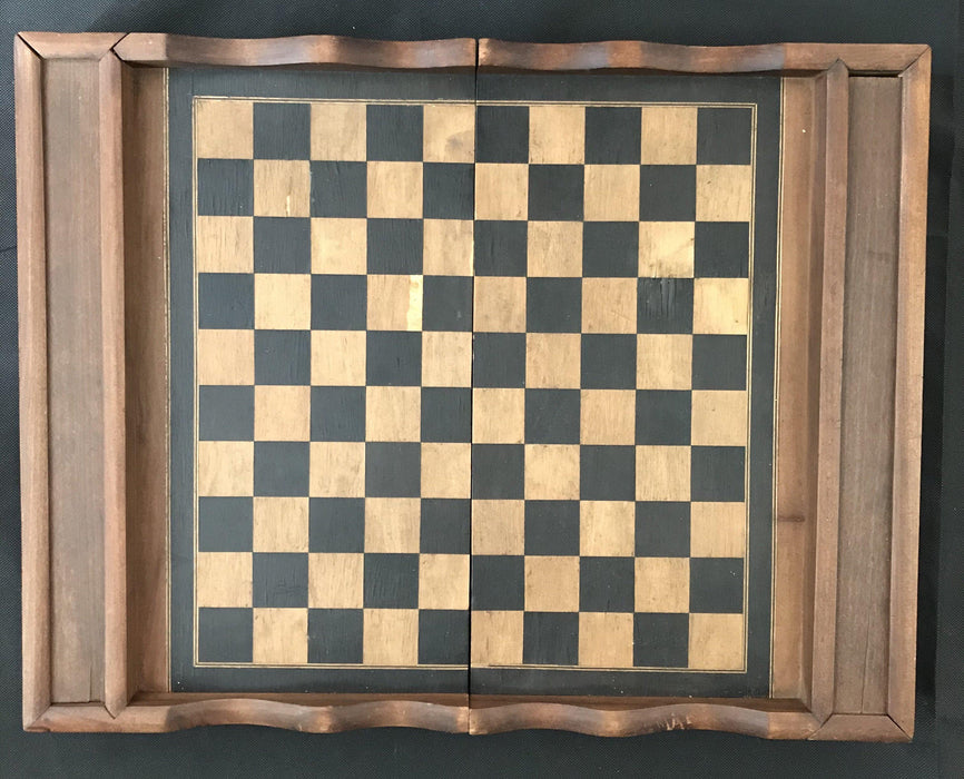 French Inlaid Chess and Checkerboard/Chequerboard, Backgammon buy this