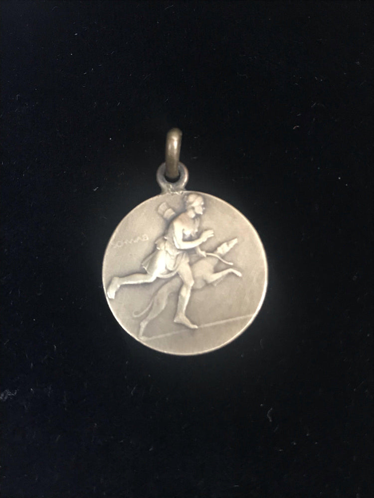 french dog medal 1938 canine pendant for sale