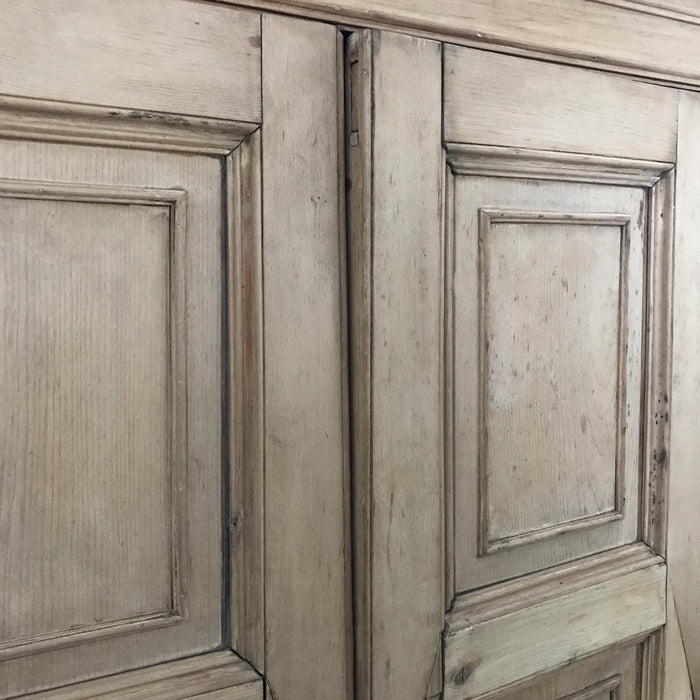 Buy this Scottish pine antique armoire
