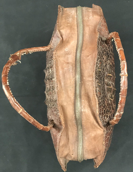 Crocodile purse for sale leather interior