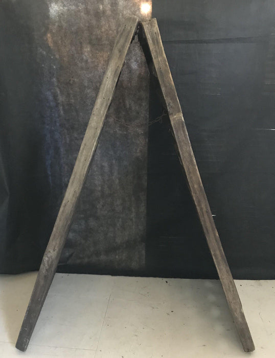 Antique French Champagne or Wine Two Sided Riddling Rack for 120 Bottles