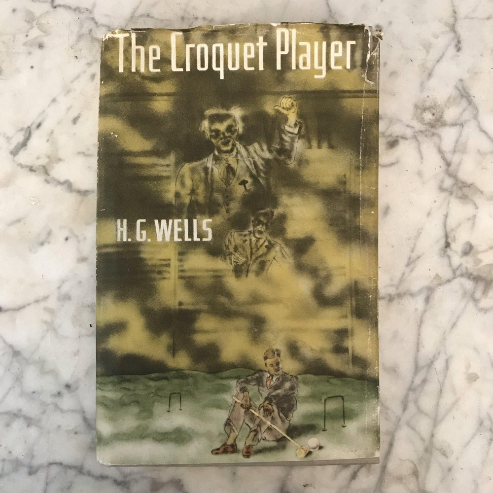 "1937 First Edition of H.G. Wells ""The Croquet Player"" Book"