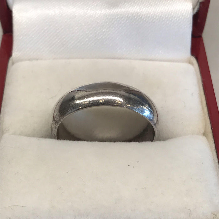 Classic Sterling Wedding Ring