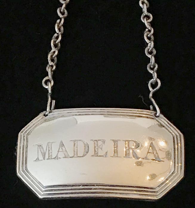 silver madeira label