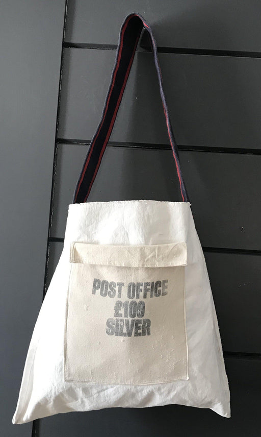 British Post Office 100 Pound Silver Purse/Bag Vintage for sale