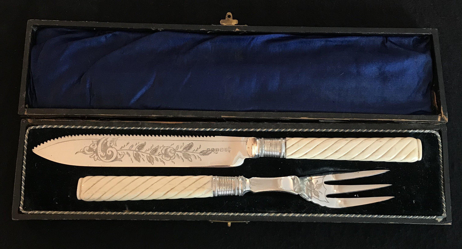 Antique French Silver Serving Set