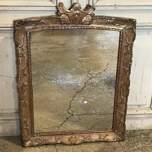 Early French Giltwood Mirror