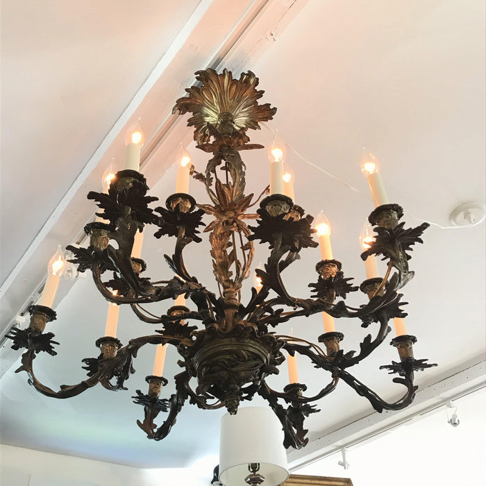 French lighting beautiful chandelier antique rare unusual