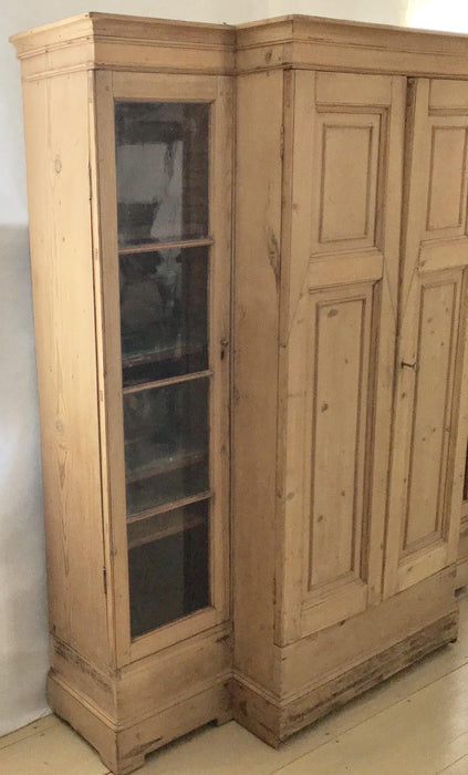 Armoire pine scrubbed from England for sale