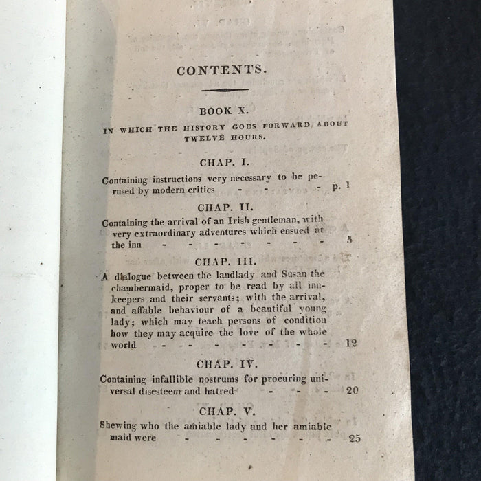 Buy this 1807 British Tom Jones Book