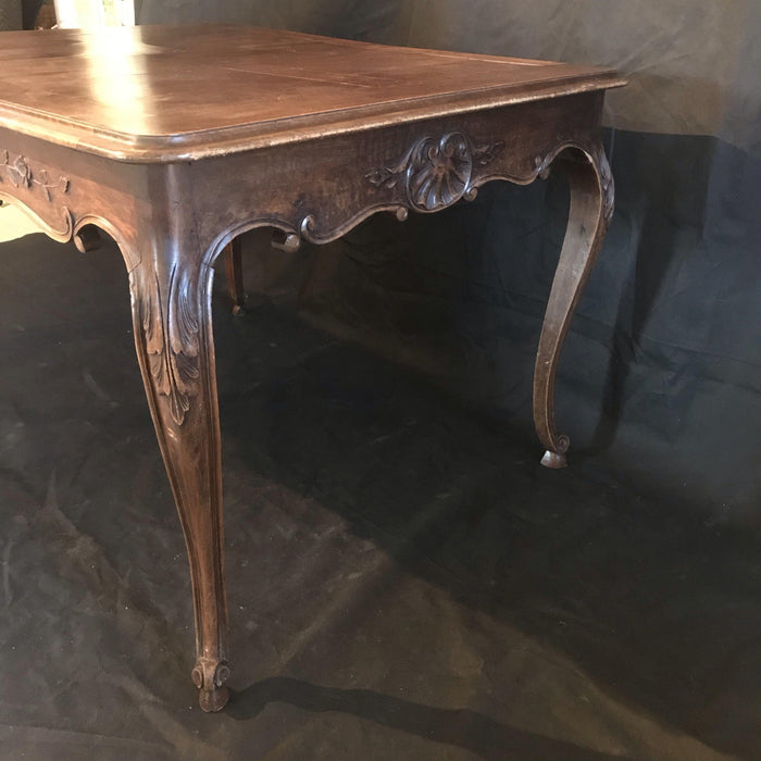 Antique French Carved Dining Table