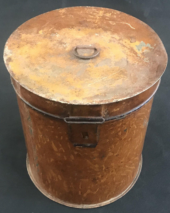 Buy this Faux Painted British Metal Canister