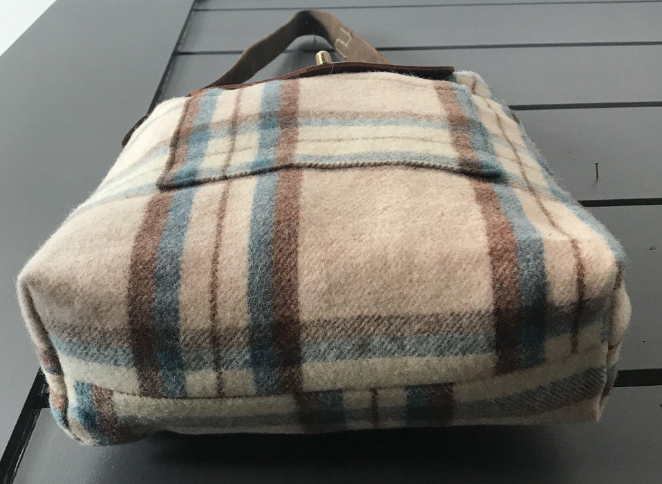 Handbag British Artist-made Vintage Wool Blanket Bag/Purse for sale antique fabulous to sell