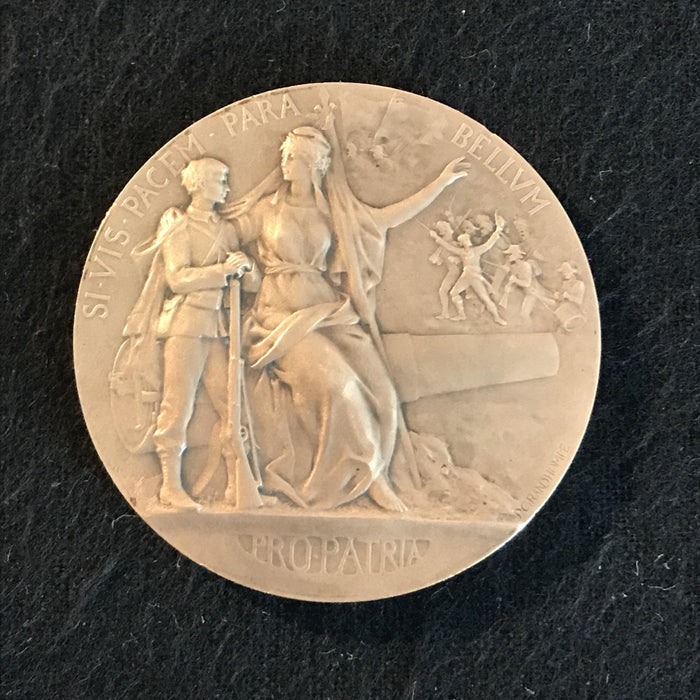 french medal si-vis pacem para pro-patria for sale