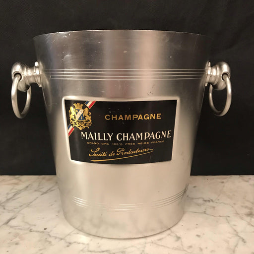 French Vintage Mailly Champagne or Ice Bucket or Cooler