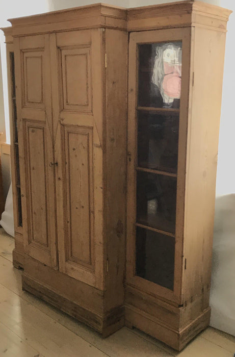 Bookcase cabinet for sale pine from England