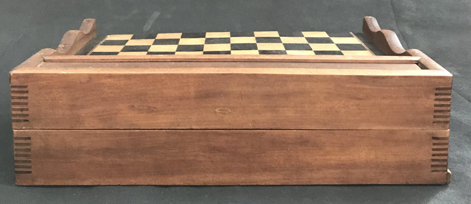 For sale: French Inlaid Chess and Checkerboard/Chequerboard, Backgammon