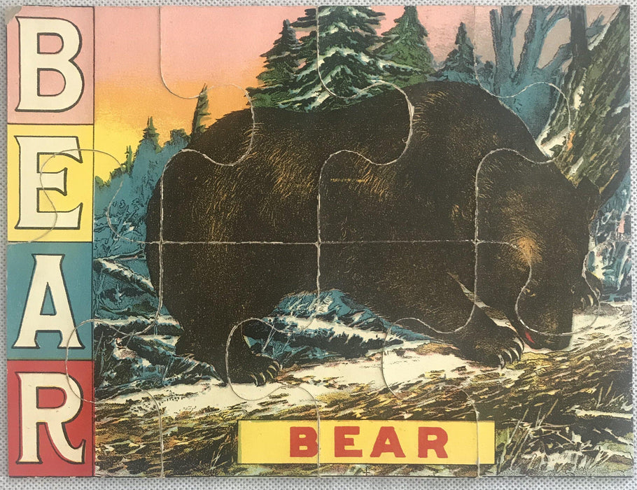 Bear puzzle for sale antique