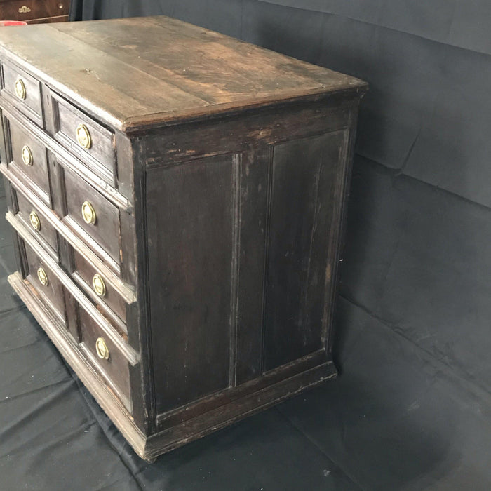 Mid 17th century Charles II Period Oak Chest of Drawers