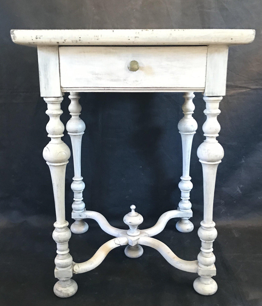 Antique French Side Table or Nightstand