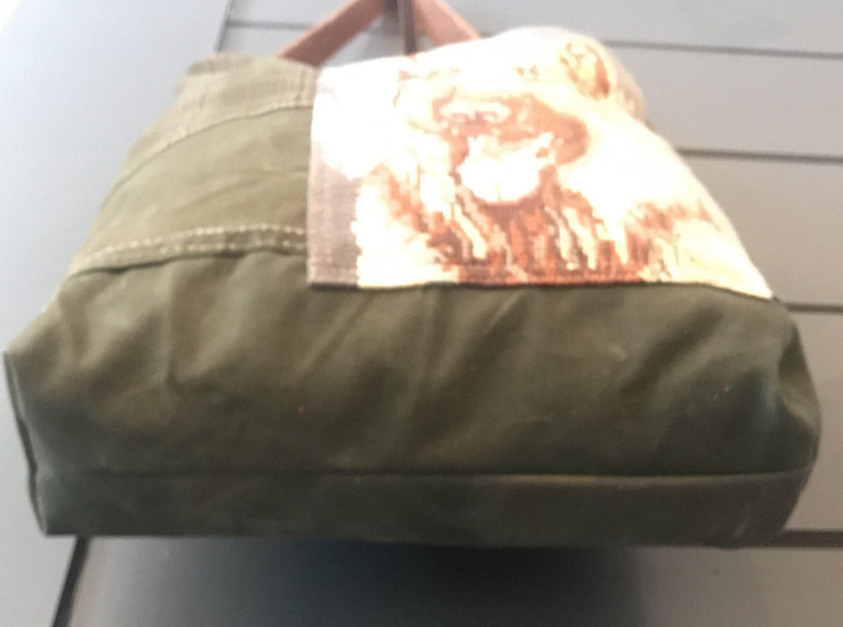 To buy: British Hunting Plaid Bag/Purse with embroidered German Shepherd dog
