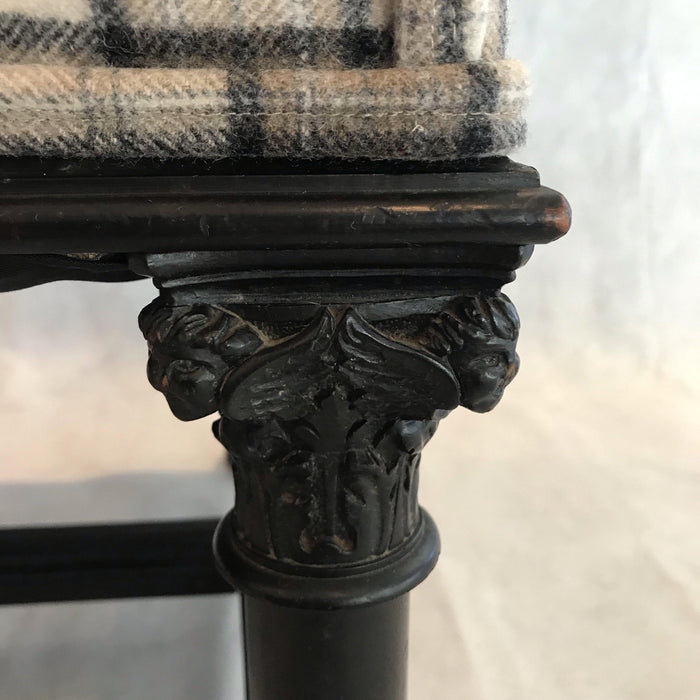 charming pair french carved chairs