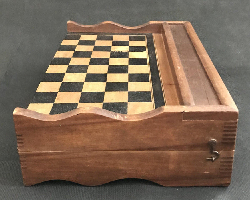French Inlaid Chess and Checkerboard/Chequerboard, Backgammon to sell
