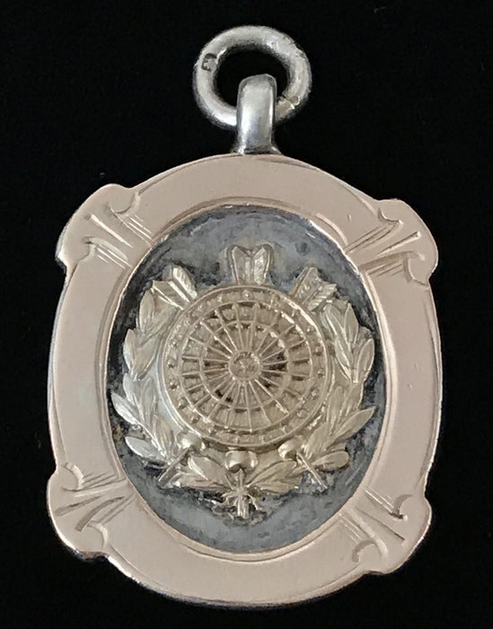 British Silver/Gold UK Darts League Medal from Birmingham, England for sale