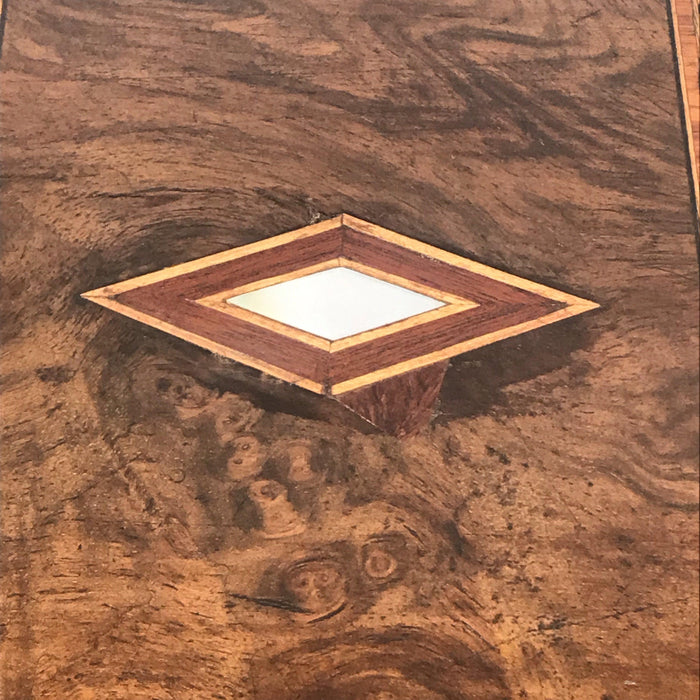 To Buy: British Inlaid Wood Box with Mother of Pearl Accents