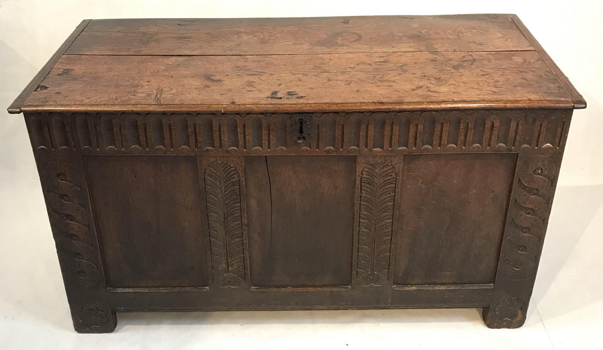 Early 18th Century British Coffer for sale