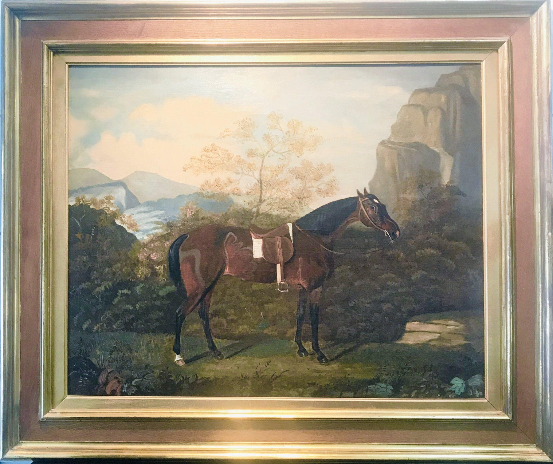 For sale: British Equestrian Painting dated 1826 by Daniel Lloyd