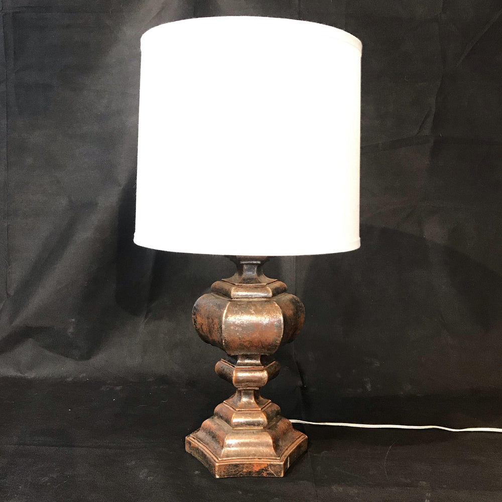 Early/Antique Italian Silver Gilt Lamp Rewired