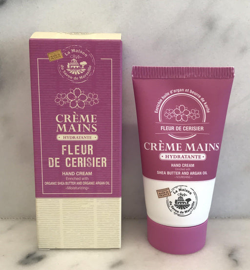 For sale: French Cherry Blossom Hand Lotion (Creme Mains Fleur de Cerisier) by Maison du Savon de Marseille