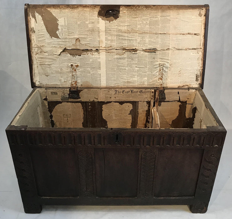 1760 Early British Coffer
