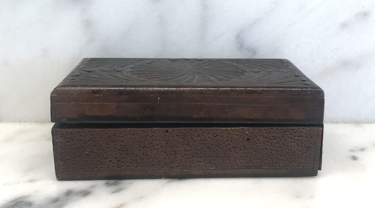 To Buy: British Hand Carved Box from 1915