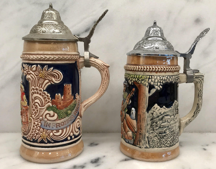 Antique German Steins For Sale