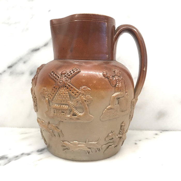 For Sale: British Doulton Stoneware Pitcher or Jug