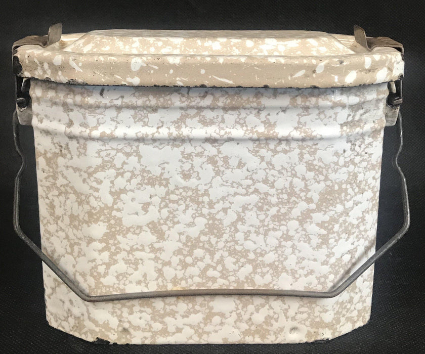 For Sale: French Enamel Lunch Box