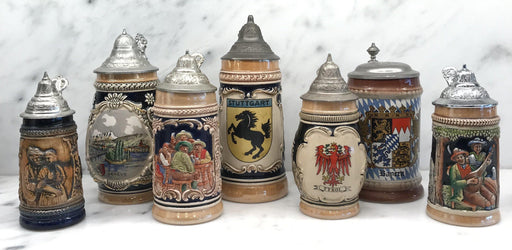 For Sale: Collection of German Steins (7)