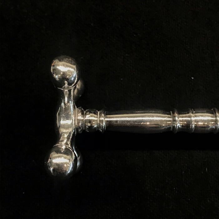 Pair of Silver British Knife Rests
