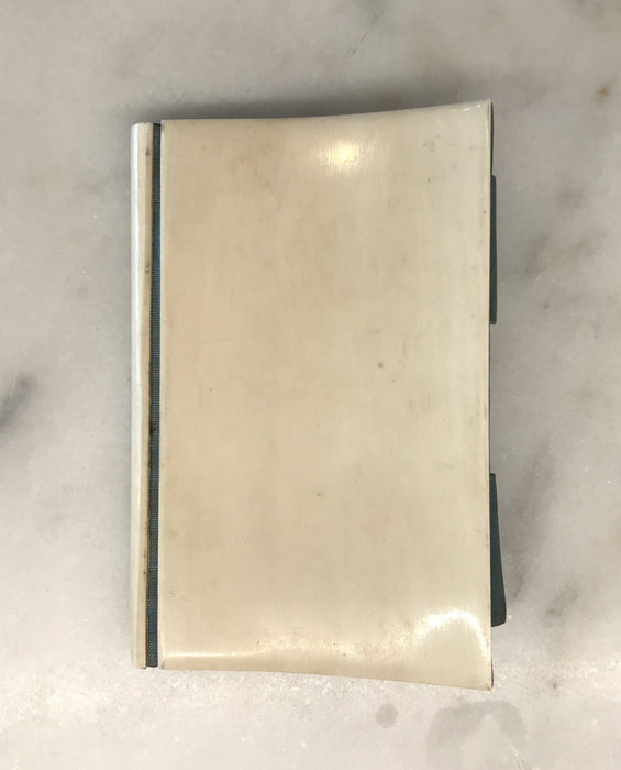 For sale: French (Bone?) Notebook Dated 1879